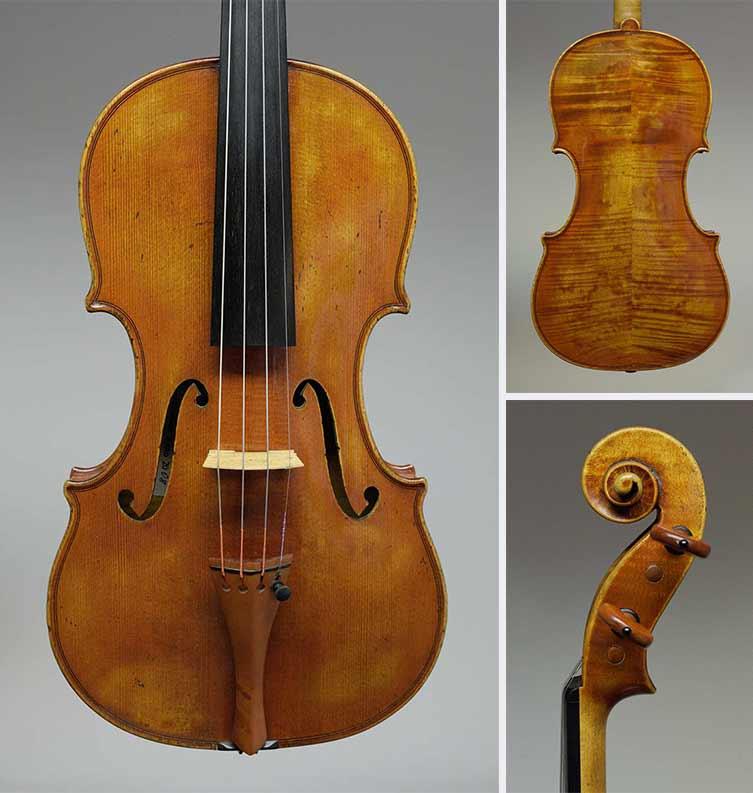 """Guarneri """"Sauret"""": Dieses späte del Gesu Modell von 1743 schafft einen intensiv fokussierten, tragfähigen Ton auf einem kräftigen, dunklen Grund"""