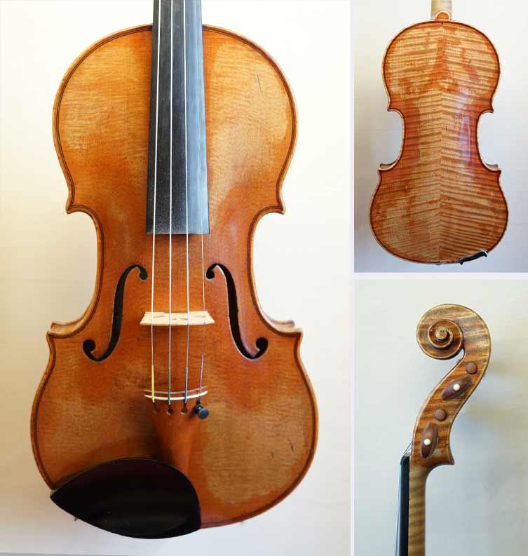 Stradivari 1713: Dieses Modell aus der goldenen Periode glänzt mit sehr fokussierten, brillianten Höhen über einem strahlend, kräftigen Grund